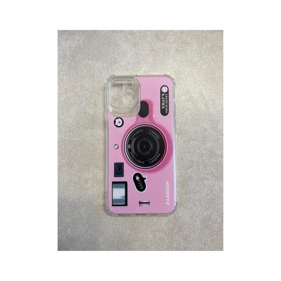 iPhone 11 Pro Pink Camera Phone Case